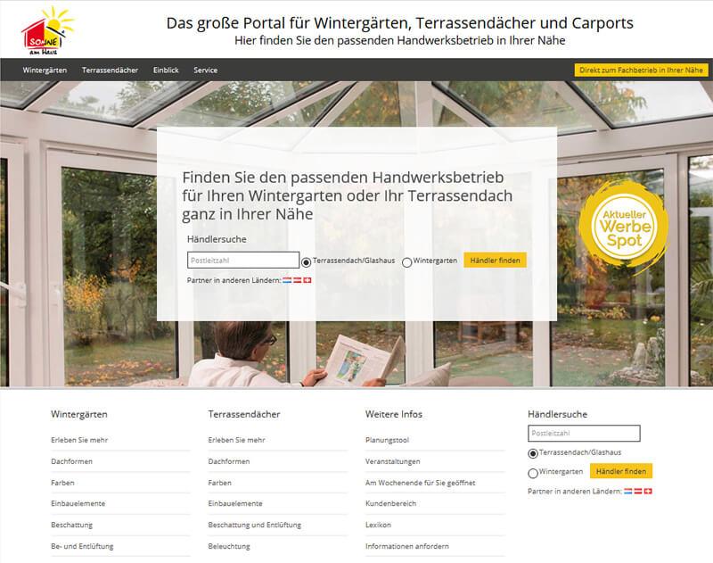Wintergarten-Portal